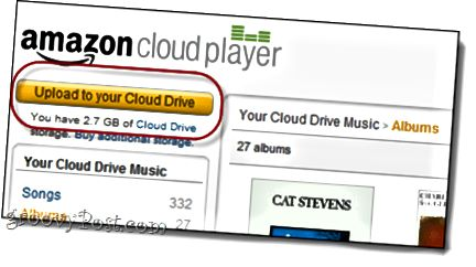 Amazon Cloud Drive Uploader