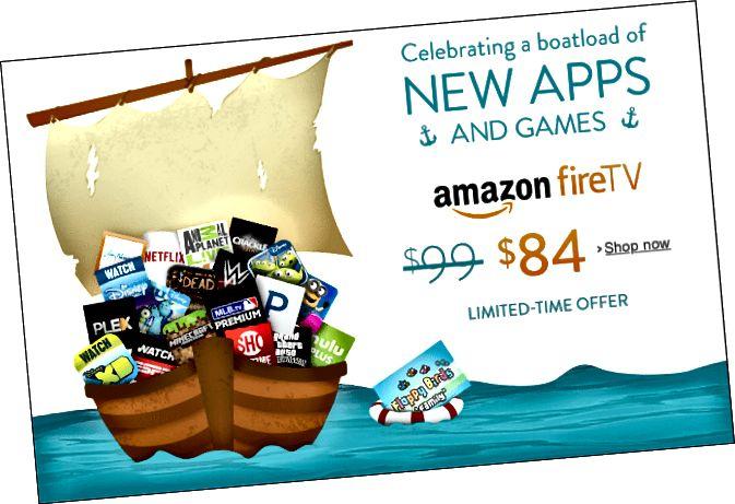 Amazon Fire TV Verkauf