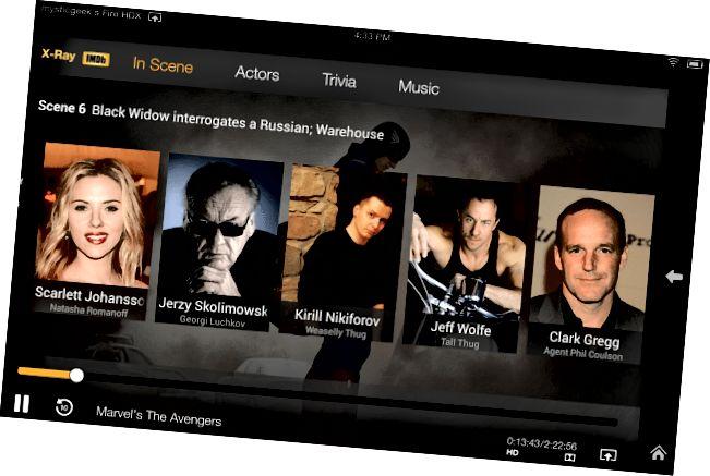Kindle Fire HDX IMDB