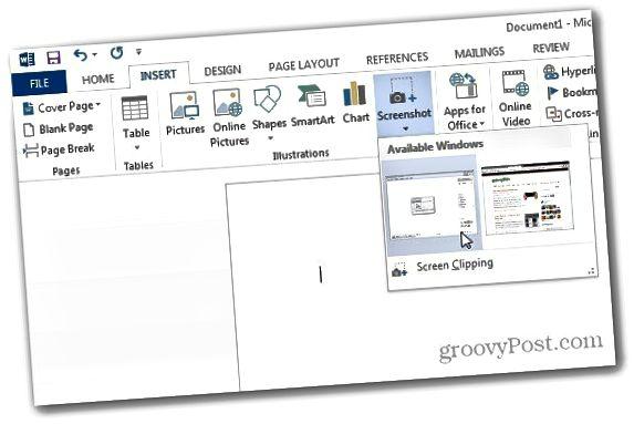 Ekran şəkilləri Word 2013 3
