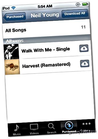 iPod Musik