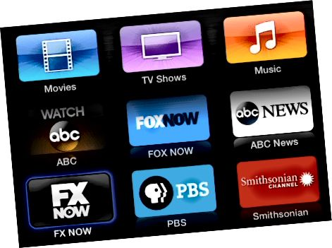 FX Now Apple TV
