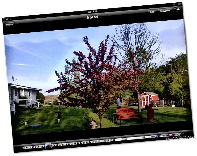 Fotografie iPad