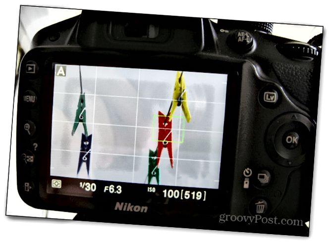 πρώτη ρύθμιση φωτογραφίας τρίποδο εστίαση ζωντανή προβολή dslr f / 6.3 6.3 nikon