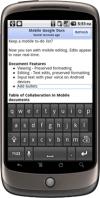 google docs mobiili