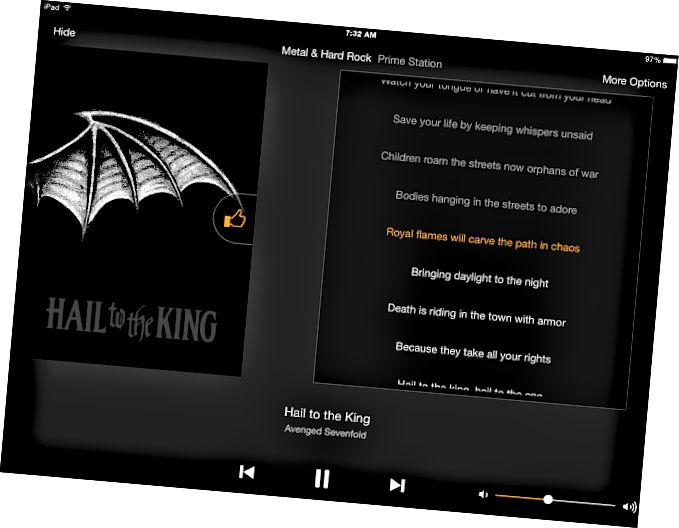 Amazon Prime Music iOS App