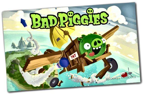 böse Schweinchen wütende Vögel laden