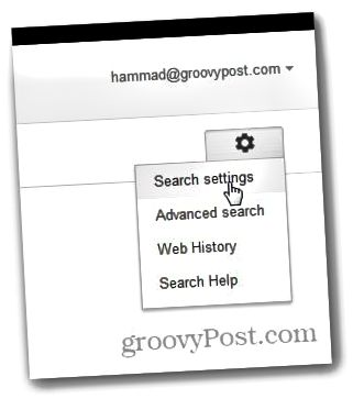 Google-Suche Neuer Tab 2