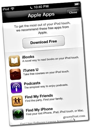 Aplikace pro iOS 6 Appl