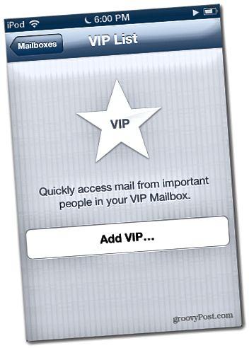 iOS 6 VIP