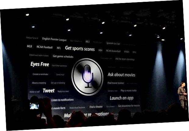 Oznámení Apple Keynote Siri