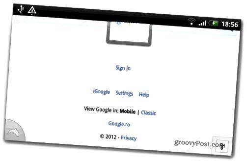 ρυθμίσεις σύνδεσης Google