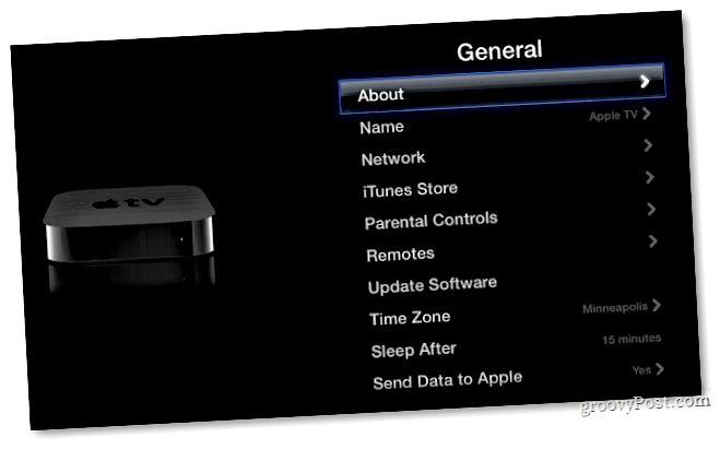 Σχετικά με το Apple TV