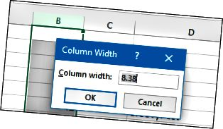 boyutlandırma-kolonkalar-3 MS Excel göstərişləri