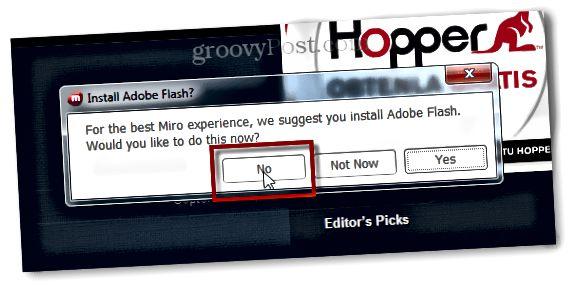 ei Adobe-salamaa minulle
