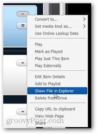 näytä tiedosto explorerissa
