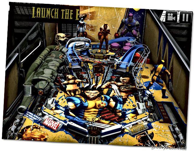 Zen Pinball Wolverine Tisch