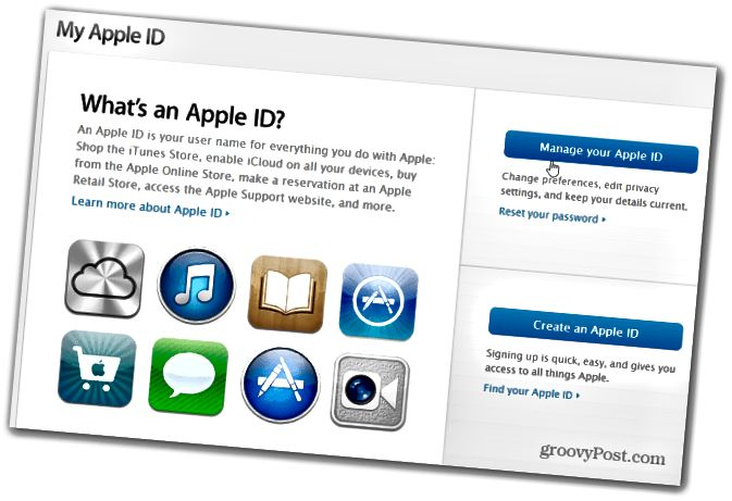 Oma Apple ID