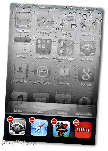 bir iOS cihazındakı tətbiqləri bağlayın
