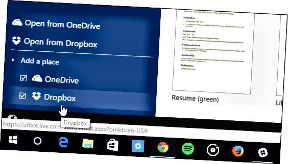 tanggapan Online Dropbox