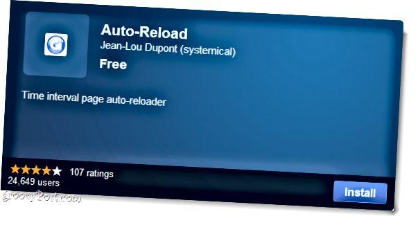 Chrome Auto-Reload-Plugin