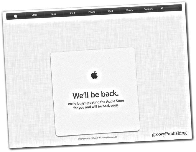 Apple Store alas