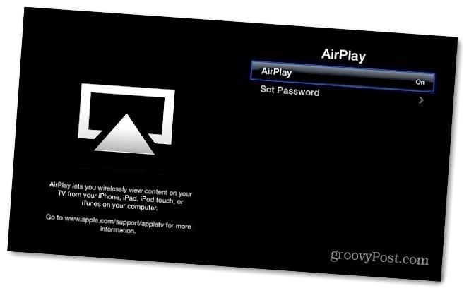 AirPlay effektiv Apple TV