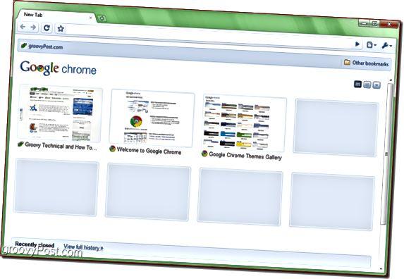Το Google Chrome Portable εκτελείται στα Αγγλικά