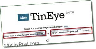 TinEye Screenshot - Suchen Sie in Ihrem Bild nach Duplikaten und größeren Versionen