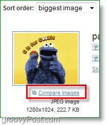 TinEye Screenshot - das Ergebnis stimmt nicht ganz überein, lassen Sie uns vergleichen