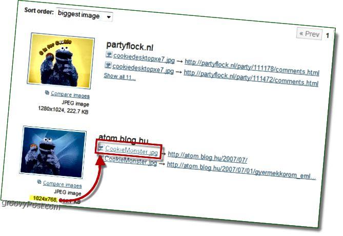 TinEye Screenshot - Finden Sie heraus, wo sich Ihr nächstgrößtes Bild befindet