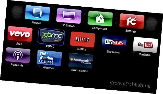 Cleaner Appl TV UI