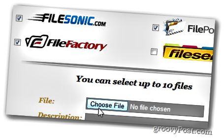 Επιλέξτε κουμπί αρχείου