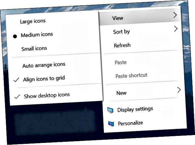 Mga update sa menu ng konteksto