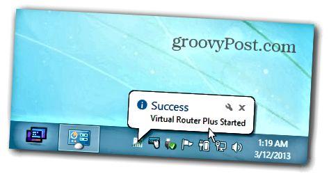 Windows 8 Virtual Router işləyir