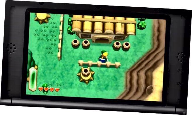 Nová hra Zelda 3DS