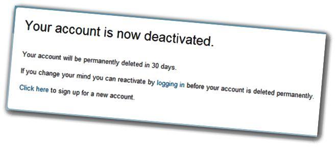 ٹویٹر کو حذف کرنے کے لئے 30 دن انتظار کریں