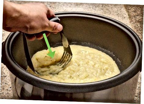 Готвене на традиционни картофено пюре
