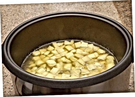 Приготвяне на картофено пюре от лук