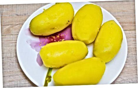Салата от сладък картоф