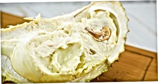 Durian Açıq dilimləmə və Cracking