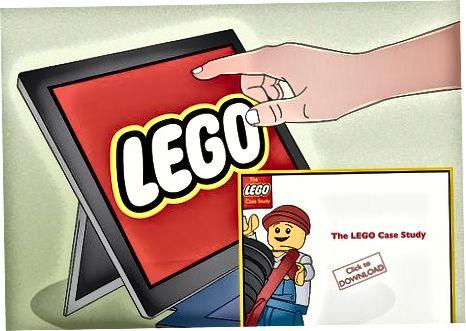 LEGO e'tiborini jalb qilish va yollash