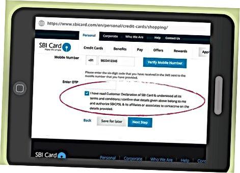 Kredit karta olish uchun murojaat qilish