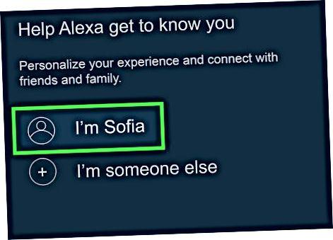 Alexa-da qo'ng'iroq qilishni sozlash