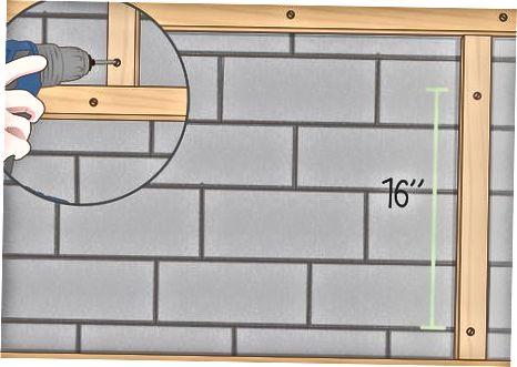 კედლის დაფარვა ვინილის საყრდენით