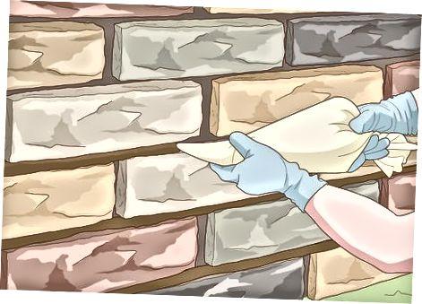 ინსტალაცია Stone Veneer