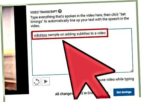 YouTube'ning Avtomatik transkripsiya sinxronlashidan foydalanish