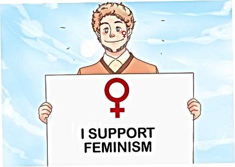 Ayollar bilan bo'lgan munosabatlaringizda feministik xulq-atvorni aks ettirish