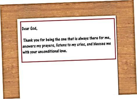 Dua Məktubunuzu Yazmaq