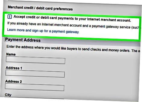 Kredit va debet karta to'lovlarini qabul qilish